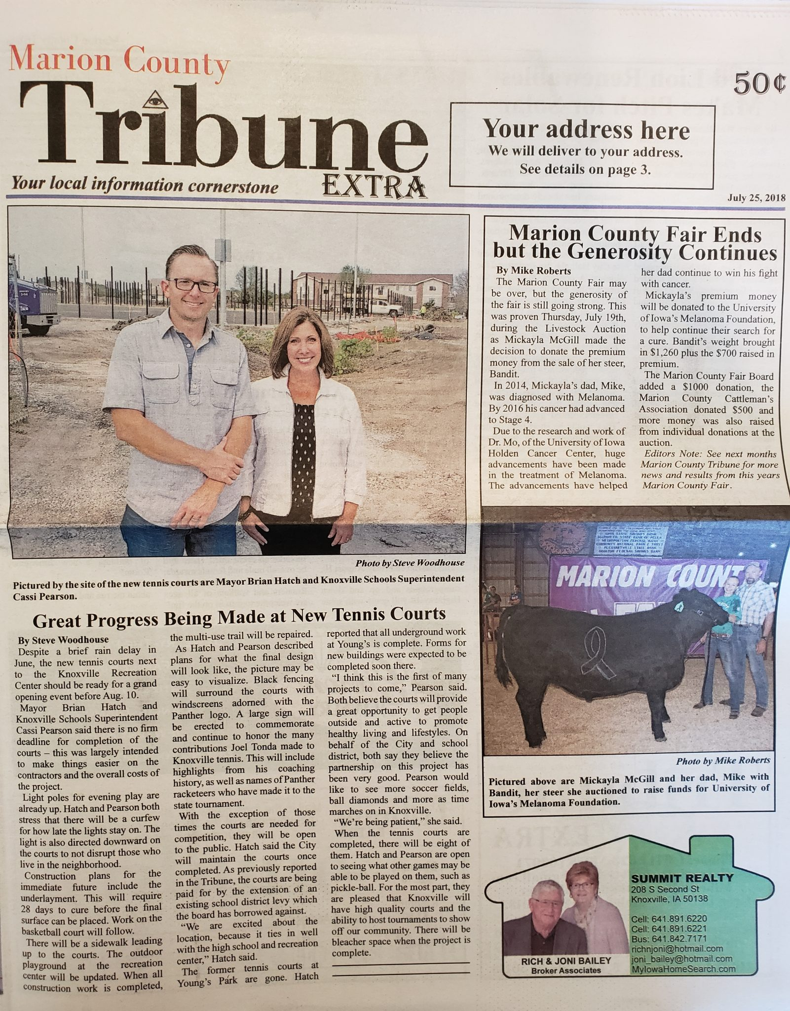 Now even more news to your home | Marion County Tribune